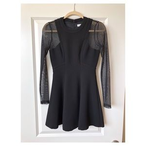 BCBG black mini dress WORN ONCE